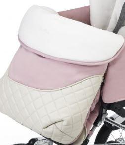 Мягкий вкладыш/конверт и накидка на ножки с ромбообразным узором для прогулки