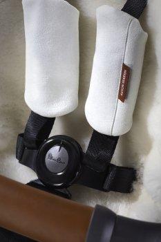 Пятиточечные ремни безопасности с накладками из алькантры