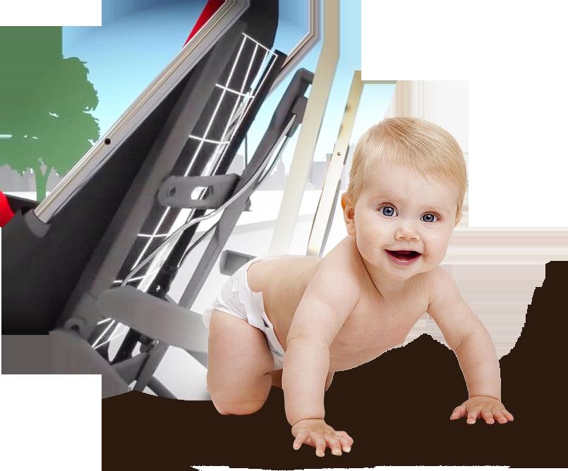 Уникальная система для удобства малыша