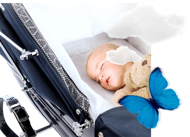 Спит в коляске лучше, чем в кроватке