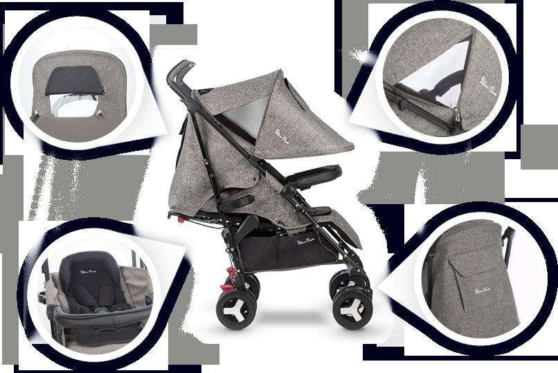 Комфортная и безопасная коляска Reflex