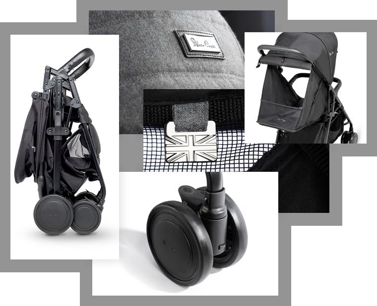 Avia – коляска со сдвоенными тормозами