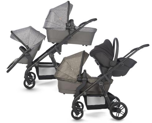 Coast – вместительная коляска для 1, 2 и даже 3 детей