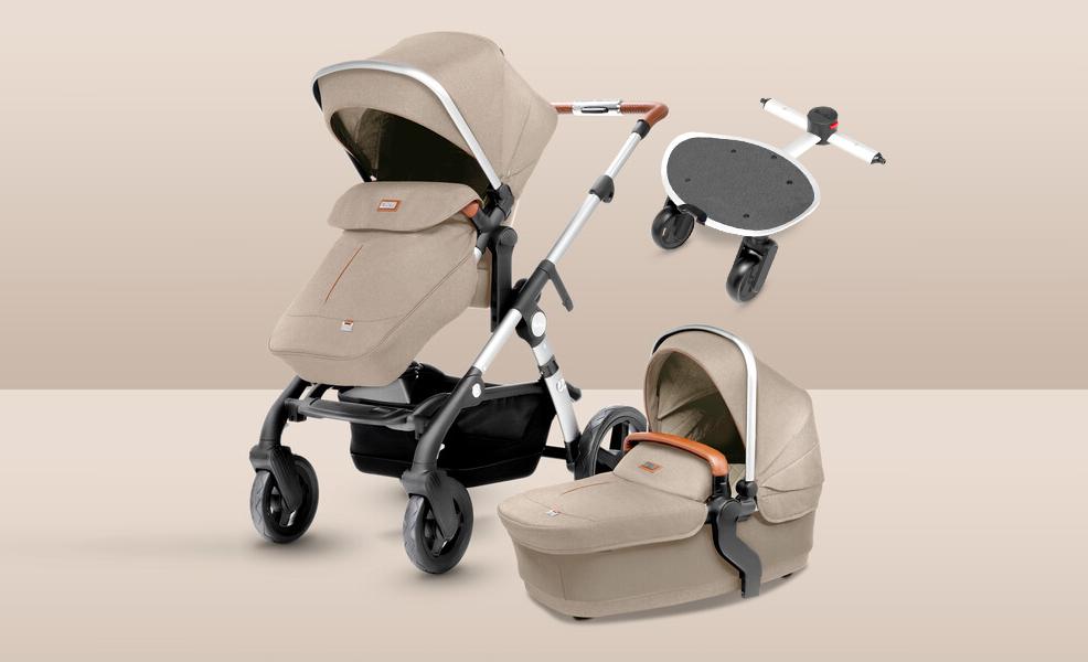 Wave — коляски для 1 или 2 малышей