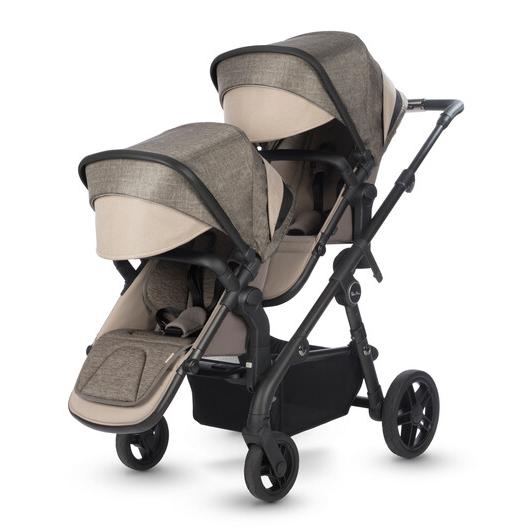 Coast — коляска как для одного, так и для двоих детей!