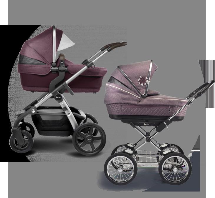 Классические коляски-люльки для новорожденных