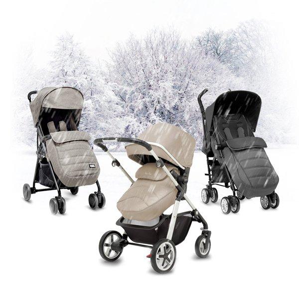 Популярные направления колясок для зимы