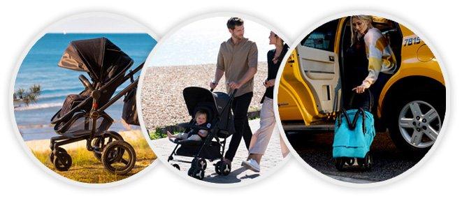 Популярные виды детских складных прогулочных колясок