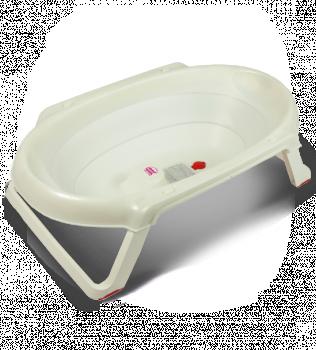 Ванна анатомическая Ok Baby Onda slim + подставка белый