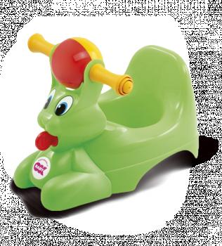 Горшочек Ok Baby Spidy зелёный