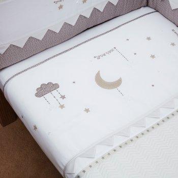 Покрывало для детской кроватки Silver Cross To the Moon & Back