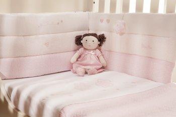 Бампер для кровати Silver Cross Bolster Bumper Vintage Pink