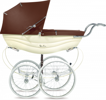 Коляска для новорожденных Silver Cross Balmoral Cream/Brown