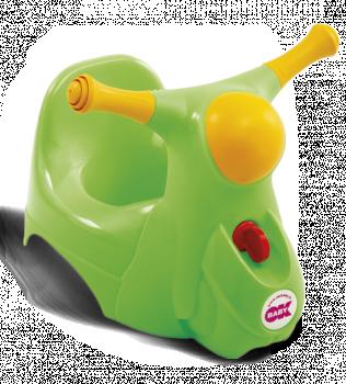 Горшочек Ok Baby Scooter зелёный