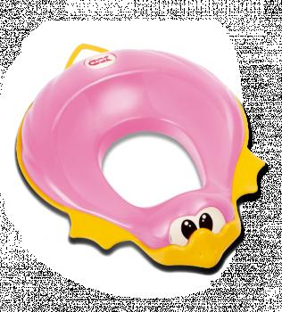 Сиденье на унитаз Ducka розовый