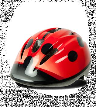 Шлем велосипедный Ok Baby Ladybug размер 46-53