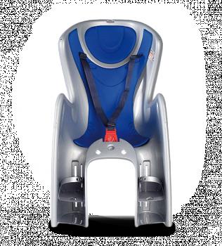 Велокресло Ok Baby Body Guard серый/синий