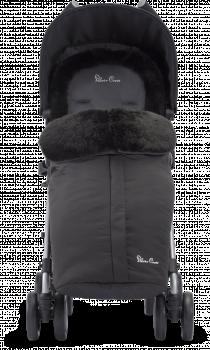 Накидка/Муфта на ножки для коляски Silver Cross Luxury Footmuff Black