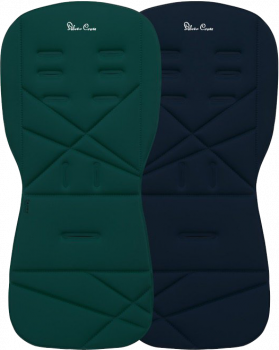 Матрасик двухсторонний Silver Cross для тростей Jade/Navy