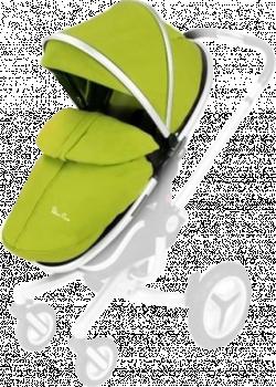 Сменный набор аксессуаров для коляски Silver Cross Surf Silver/Lime