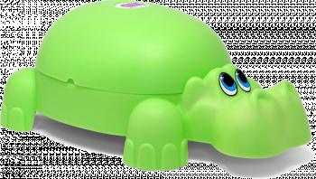 Горшочек Ok Baby Ippopotamo зеленый