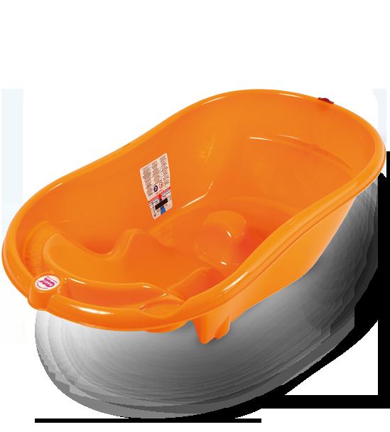 Ванночка анатомическая Ok Baby Onda оранжевый