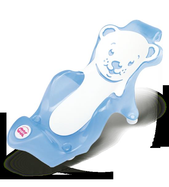 Горка для купания Ok Baby Buddy синий