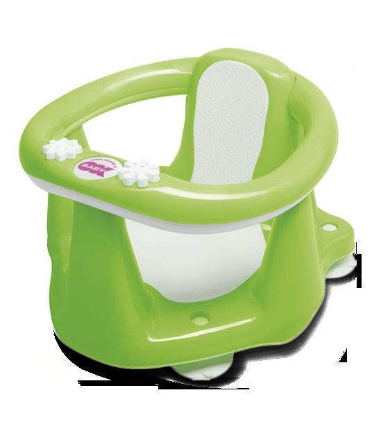 Сиденье в ванну Ok Baby Flipper Evolution салатовый