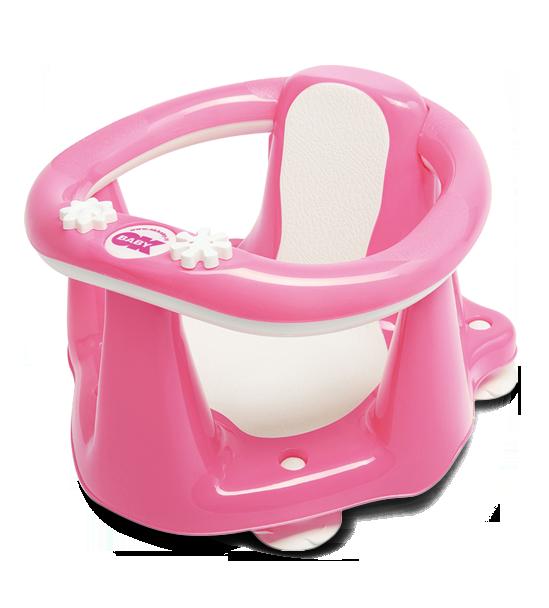 Сиденье в ванну Ok Baby Flipper Evolution розовый