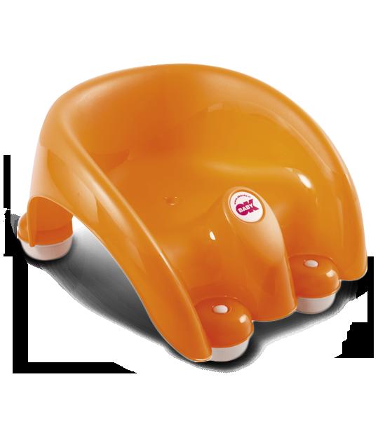 Сиденье в ванну Pouf оранжевый