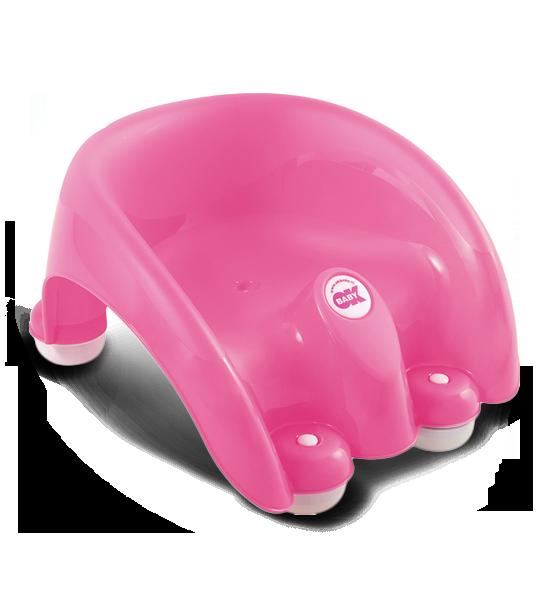 Сиденье в ванну Pouf розовый