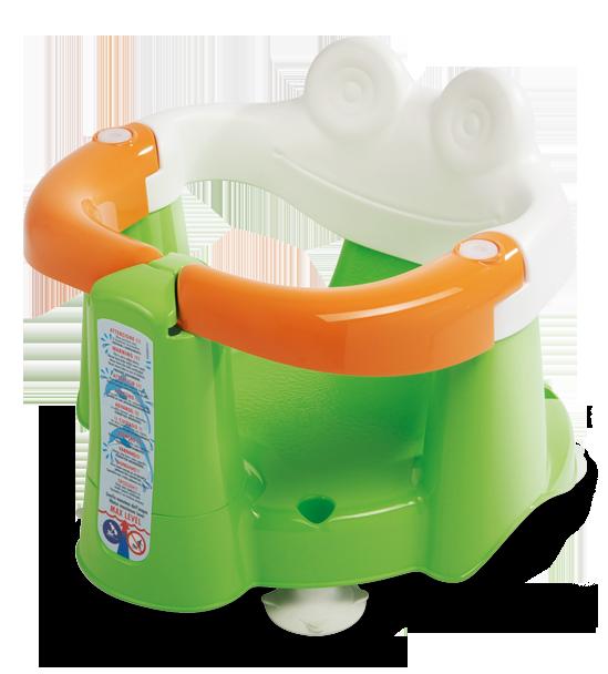 Сиденье в ванну Crab зелёный