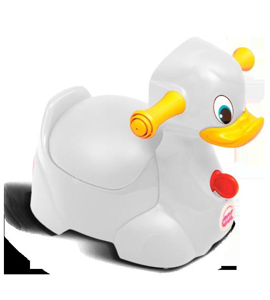 Горшочек Ok Baby Quack белый