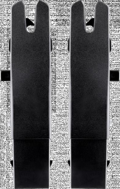 Адаптеры для автокресла Simplicity для коляски Silver Cross Coast/Wave для установки внизу на рамы