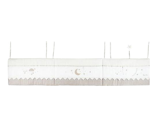 Бампер для детской кровати Silver Cross To the Moon & Back