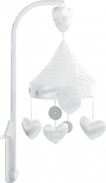 Музыкальный мобиль Silver Cross Handmade with Love