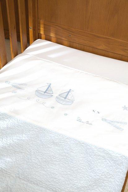Покрывало для детской кроватки Silver Cross Vintage Blue