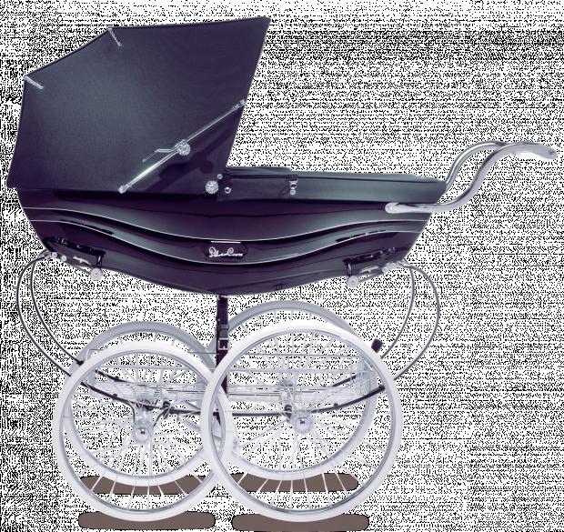 Коляска для новорожденных Silver Cross Balmoral Navy