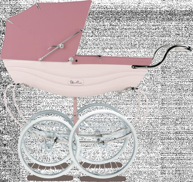 Коляска для новорожденных Silver Cross Balmoral Soft Pink