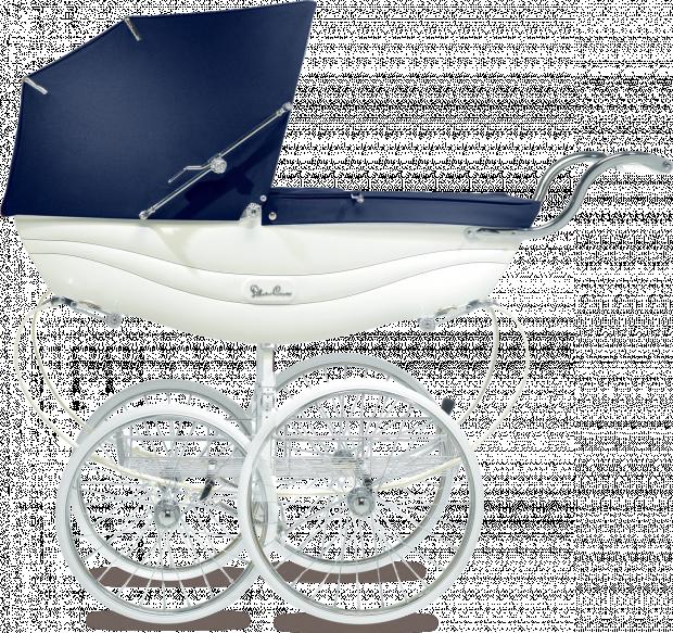 Коляска для новорожденных Silver Cross Balmoral White/Navy