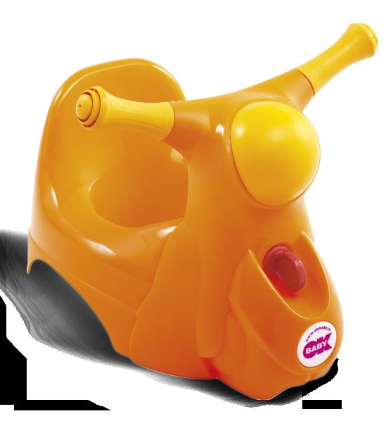 Горшочек Ok Baby Scooter оранжевый