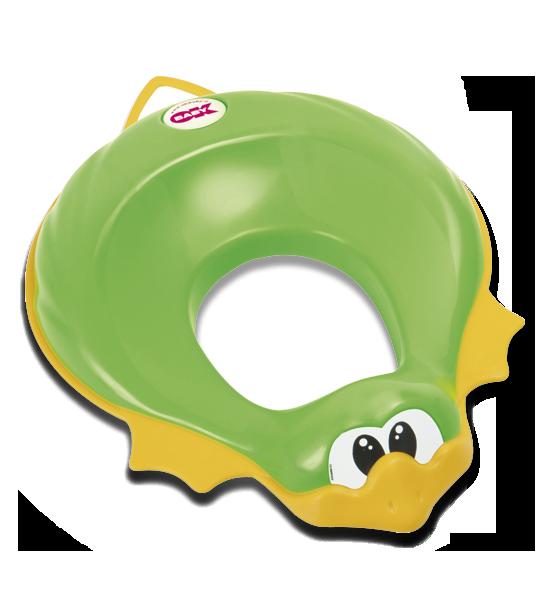 Сиденье на унитаз Ducka зелёный
