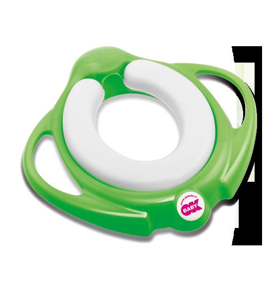 Сиденье на унитаз Ok Baby Pinguo Soft зелёный