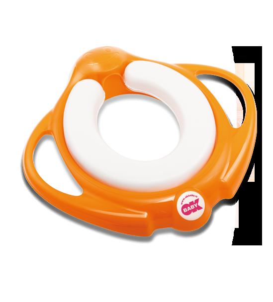 Сиденье на унитаз Ok Baby Pinguo Soft оранжевый