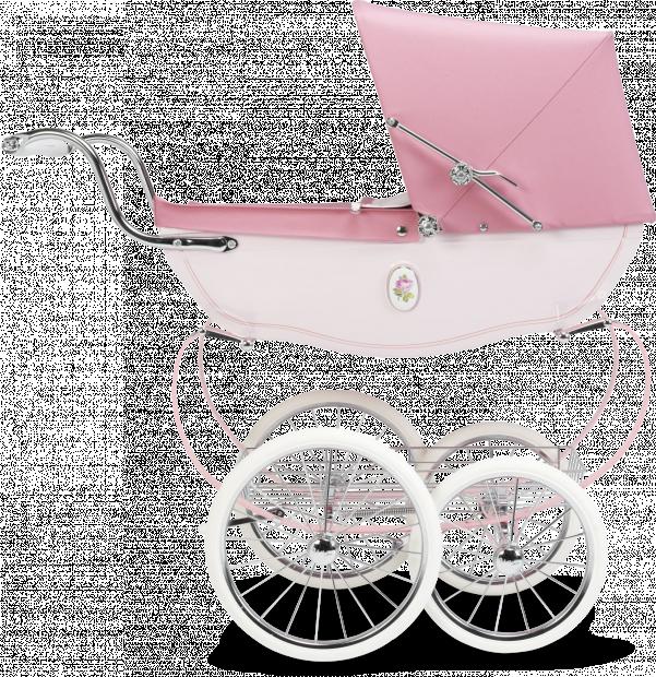 Кукольная коляска Silver Cross Chatsworth Rose