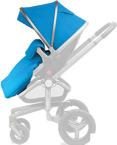 Сменный набор аксессуаров для коляски Silver Cross Surf Graphite/Sky blue