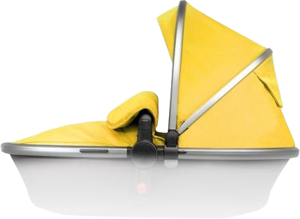 Сменный набор аксессуаров для коляски Silver Cross Surf Silver/Yellow