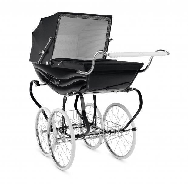 Коляска для новорожденных Silver Cross Balmoral Black