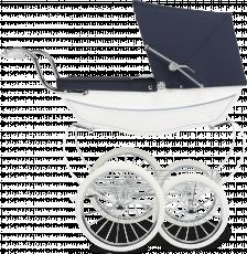 Коляска для кукол Silver Cross Oberon White/Navy