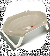 Ванна анатомическая Ok Baby Onda slim + подставка серый